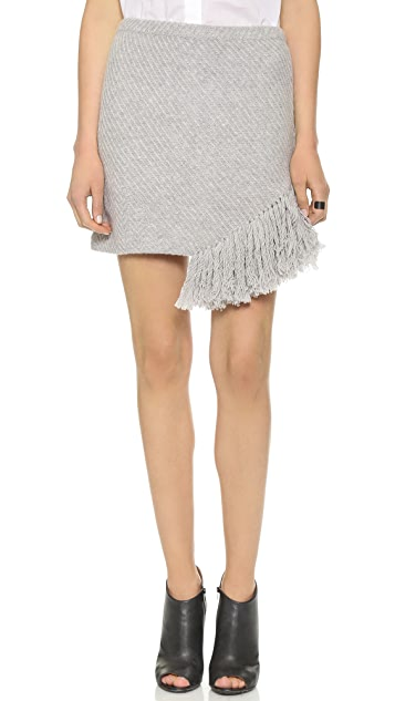 Thakoon Addition Fringe Skirt