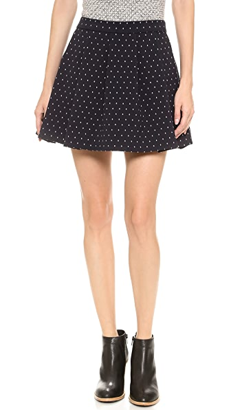 Thakoon Addition Polka Dot Full Skirt
