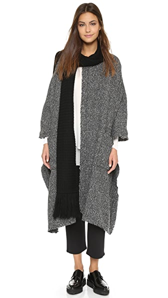 Thakoon Addition Pullover Cape