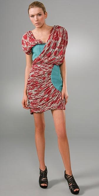 Thakoon Tidal Draped Dress