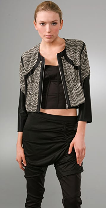 Thakoon Cropped Jacket