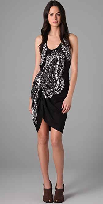 Thakoon Twist Front Tank Dress