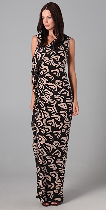 Thakoon Ruffle Front Gown