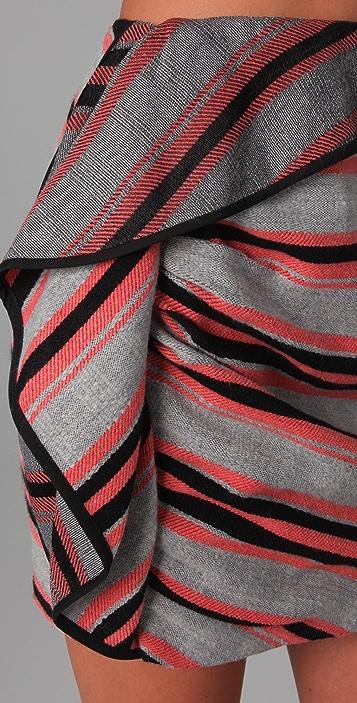 Thakoon Side Draped Skirt
