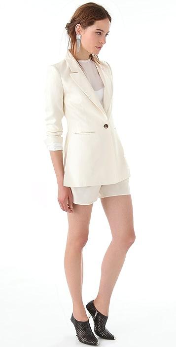 Thakoon Pleat Front Shorts