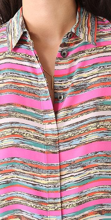 Thakoon Asymmetrical Shirtdress