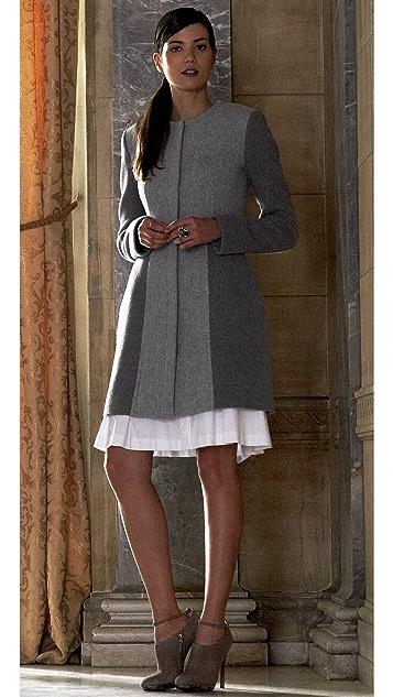 Thakoon Collarless Coat