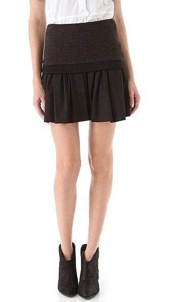 Thakoon Banded Miniskirt
