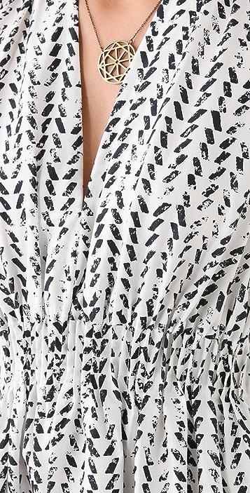 Thakoon Cinched Waist Dress