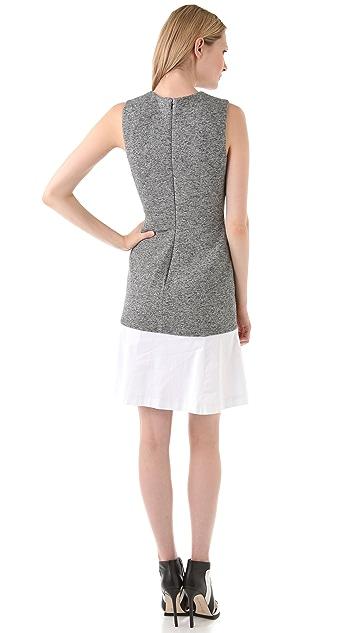 Thakoon Contrast Hem Shift Dress