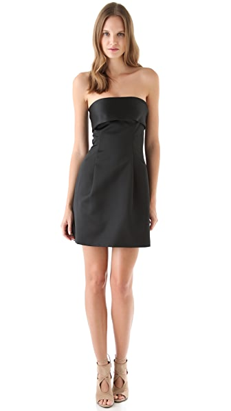 Thakoon Bow Back Satin Dress