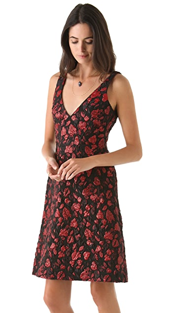 Thakoon Heart Jacquard Dress