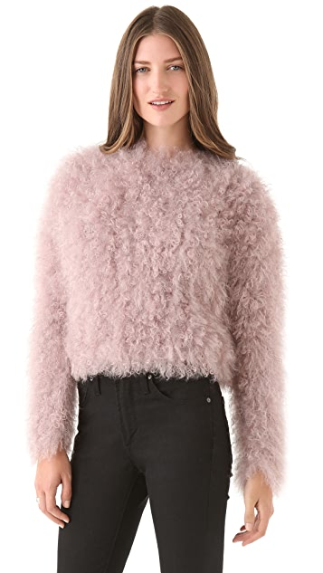 Thakoon Mohair Pullover Top