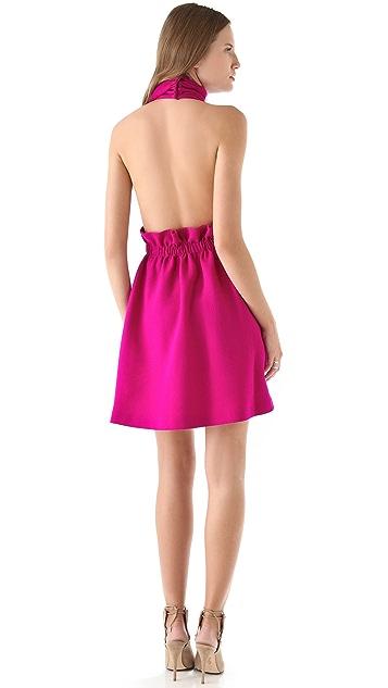 Thakoon Open Back Halter Dress