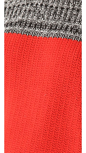 Thakoon Marled Crew Neck Sweater