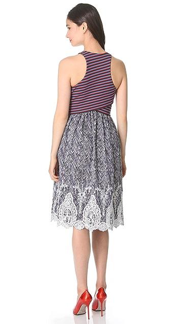 Thakoon Cross Front Dress