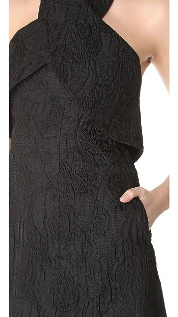 Thakoon Cross Halter Dress
