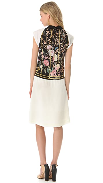 Thakoon Wing Sleeve Shirtdress