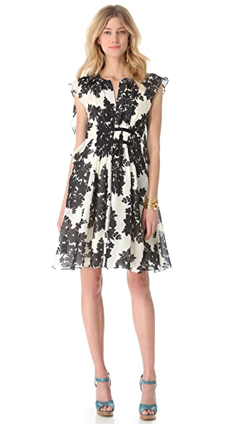 Thakoon Butterfly Sleeve Dress