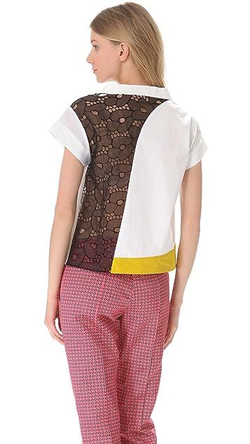 Thakoon Patchwork T-Shirt