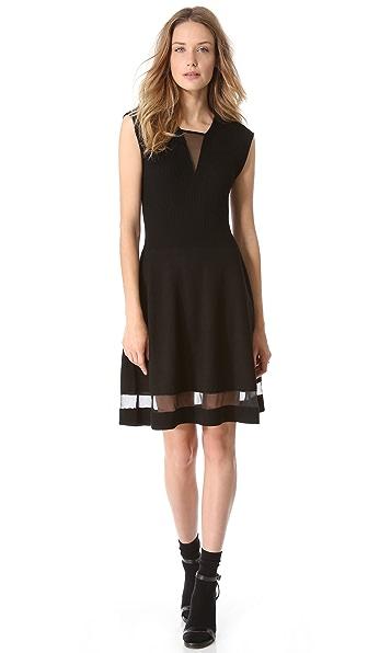 Thakoon Ribbed Bodice Dress