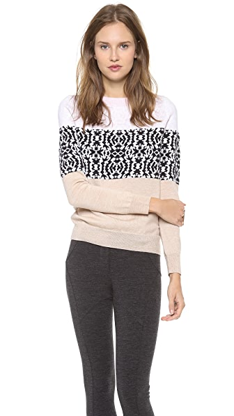 Thakoon Striped Pullover