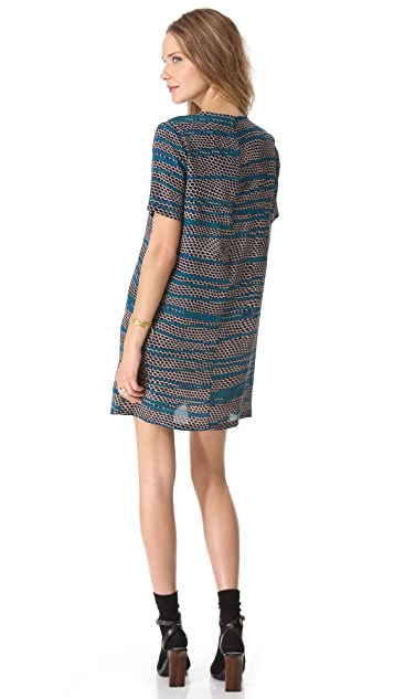 Thakoon Silk T-Shirt Dress