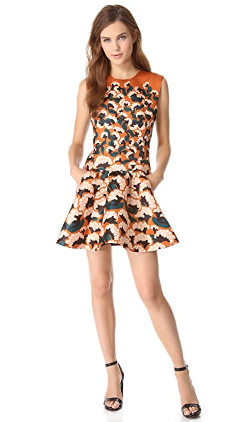 Thakoon Gathered Front Dress