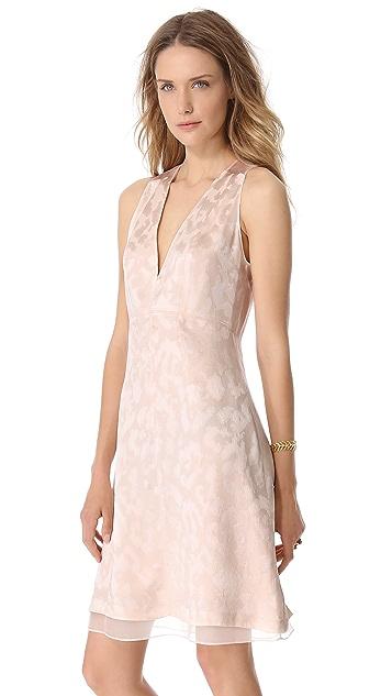 Thakoon Sleeveless V Neck Dress