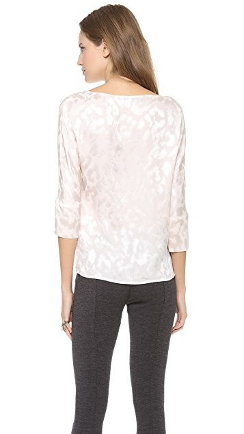 Thakoon Boat Neck Top