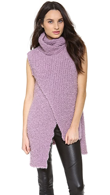 Thakoon Sleeveless Turtleneck Sweater