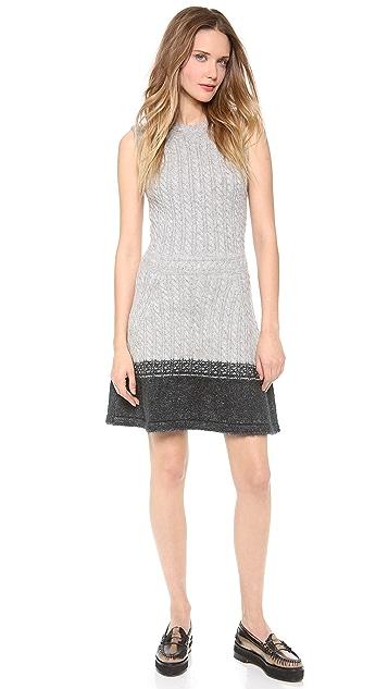 Thakoon Flare Wool Dress