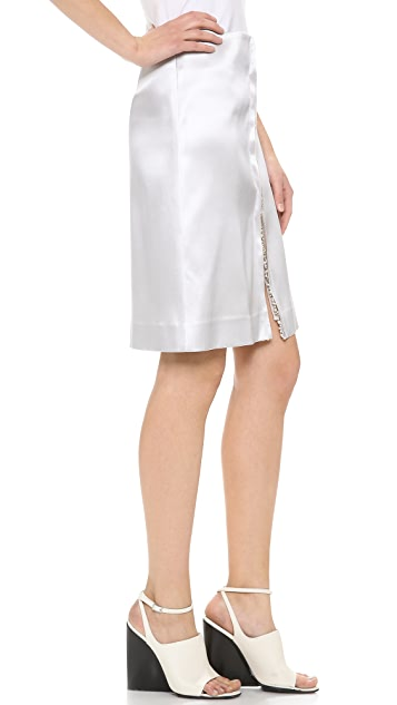 Thakoon Jewel Embroidered Skirt