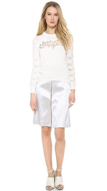 Thakoon Jewel Embroidered Skirt