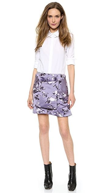 Thakoon Tie Front Skirt