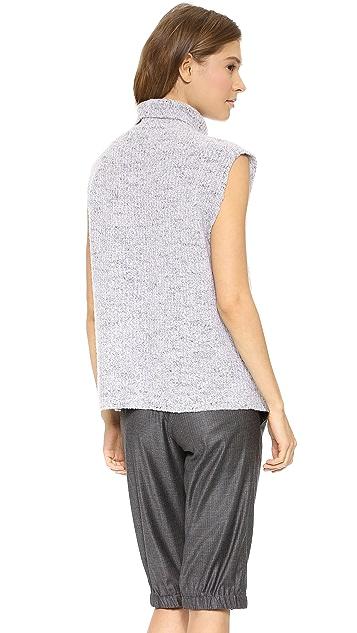 Thakoon Cross Front Turtleneck Sweater
