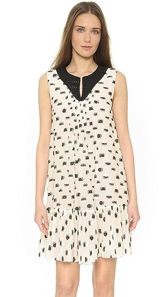 Thakoon Sleeveless Dress - Black/Cream at Shopbop