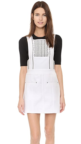 Thakoon Eyelet Trimmed Dress