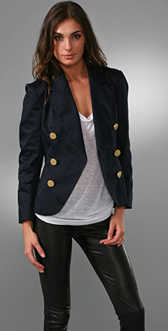 Thayer Double Breasted Blazer