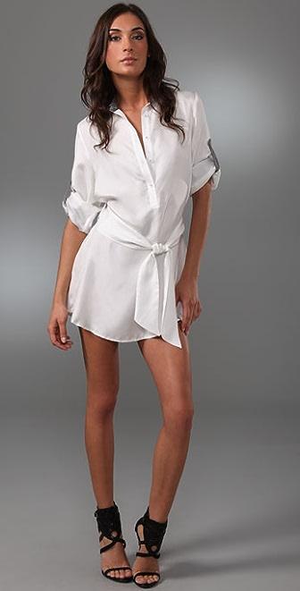 Thayer Silk Shirtdress