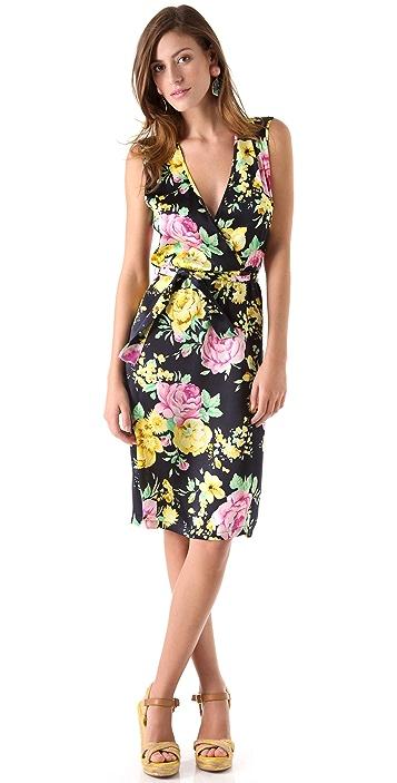 Thayer Go Deep Printed Dress