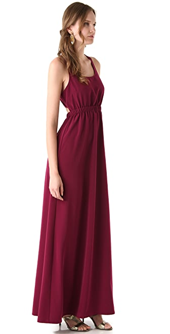 Thayer Maxi Slit Back Dress