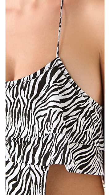 Thayer One Piece Ruffle Swimsuit