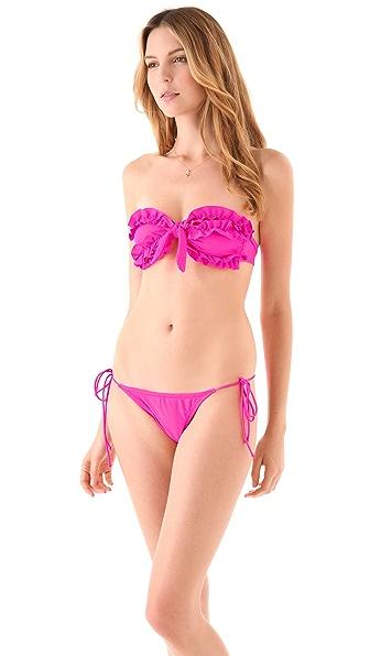 Thayer Bandeau Ruffle Bikini