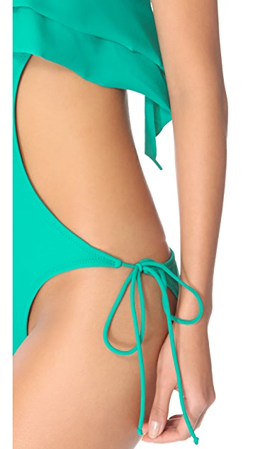 Thayer Ruffle One Piece Swimsuit