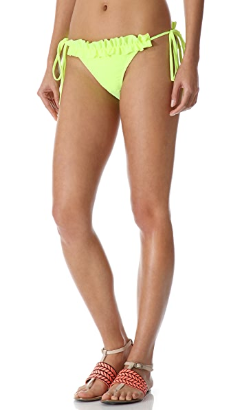 Thayer Ruffle String Bikini Bottoms