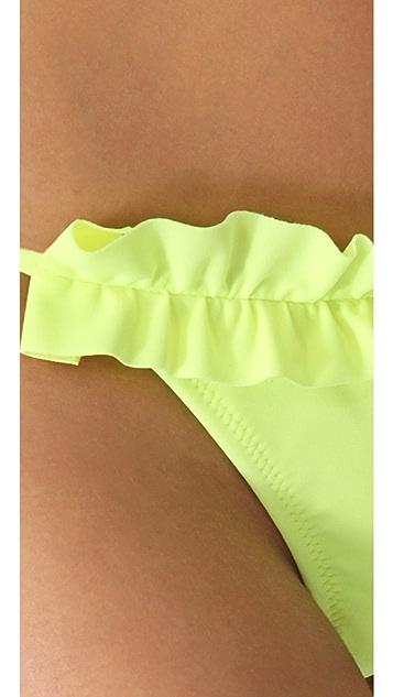 Thayer Ruffle String Bikini Bottoms