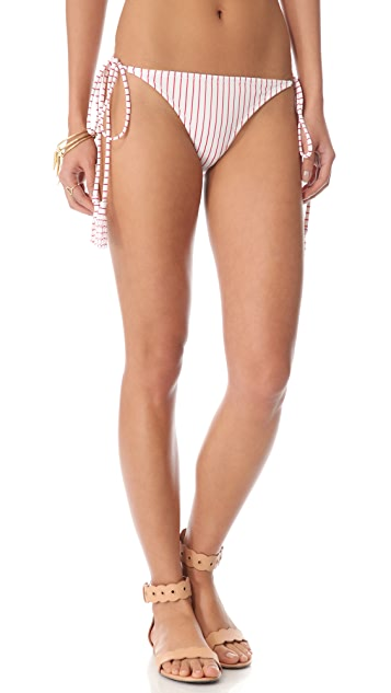 Thayer Tassel String Bikini Bottoms