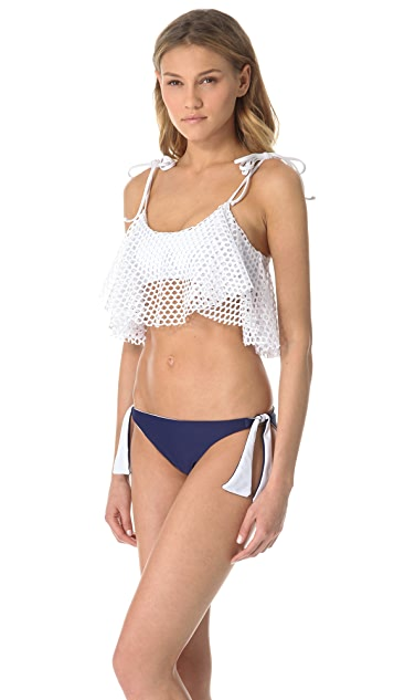 Thayer Ruffle Bralette Bikini Top