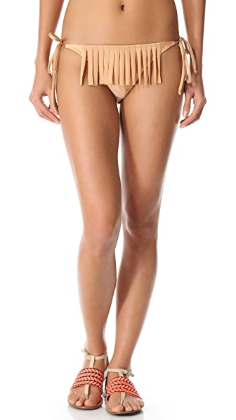 Thayer Fringe String Bikini Bottoms